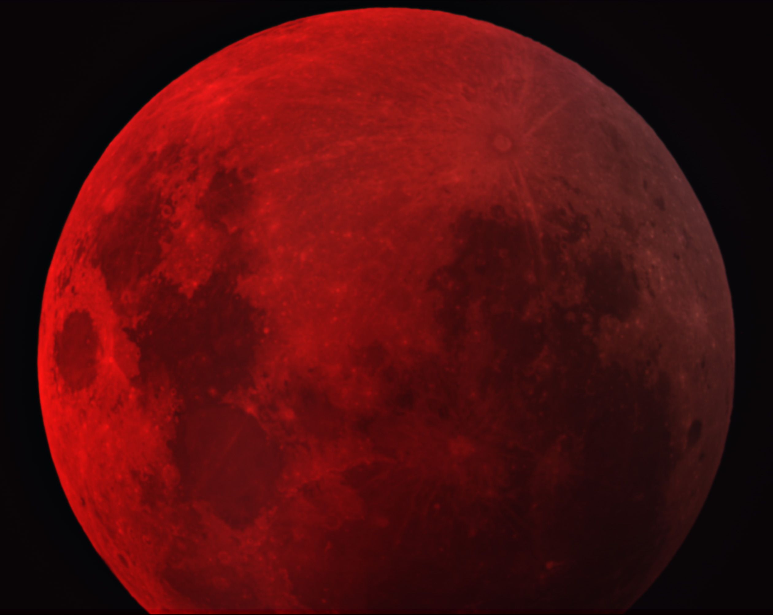 red moon and eclipse - photo #18
